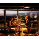 埃菲尔铁塔58餐厅21H晚餐155欧套餐/人