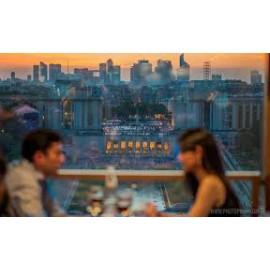 埃菲尔铁塔58餐厅18H30晚餐 99€套餐/人