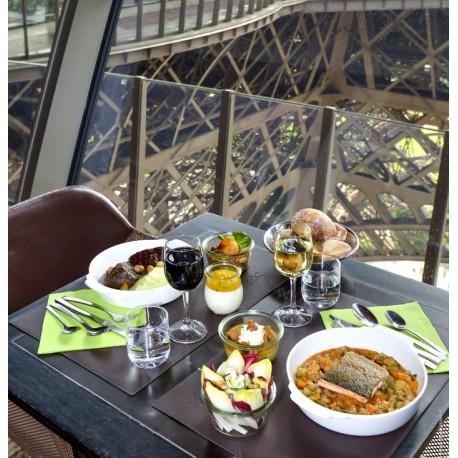 放大 埃菲尔铁塔一楼58餐厅(包铁塔门票) 12岁以下儿童17欧