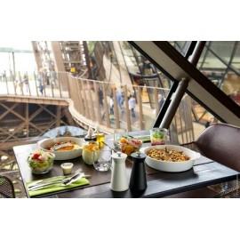 埃菲尔铁塔一楼58餐厅(包铁塔门票) 41.5欧起/人,12岁以下儿童17欧起