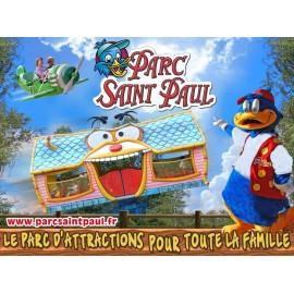 圣保罗主题公园 Parc Saint Paul门票 20欧/大人