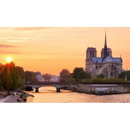 巴黎塞纳河观光游船票 原价13.5欧元,现单张仅售6欧元!!