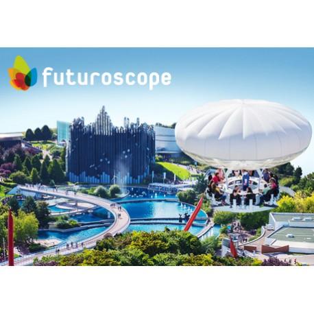 futuroscope未来影视城+树屋度假村+探索公园 160欧/人