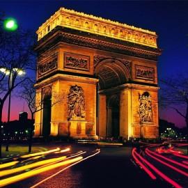 L'ARC DE TRIOMPHE : VUE DE PARIS A 360°